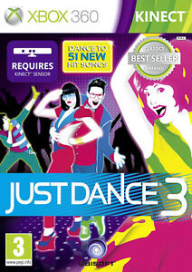 Just Dance 3 Classics Kinect Xbox 360 * NEW SEALED PAL *