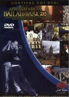 2 DVD SET LEARN TO DANCE TANGO LESSONS ARGENTINA