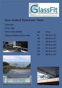 10mm Heat soaked balustrade glass Yatala Gold Coast North Preview