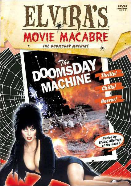 DOOMSDAY MACHINE: ELVIRA'S MOVIE MACABRE (Thayer David) - DVD - Region 1 Sealed