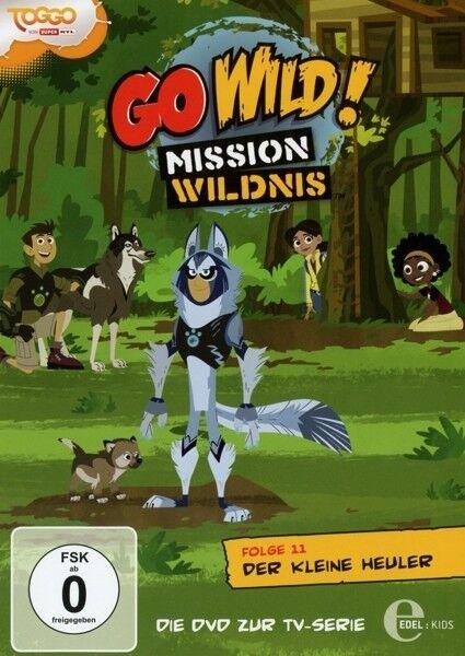 GO WILD! MISSION WILDNIS - FOLGE 11: DER KLEINE HEULER - DVD Z.TV-SERIE DVD NEU