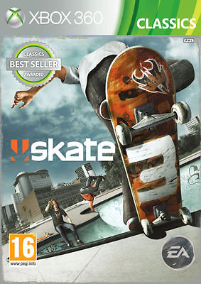 Skate 3 Xbox 360 Xbox One Backwards Compatible Game EA NEW SEALED FREE DELIVERY