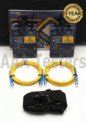 Fluke Networks Dtx-sfm2 Sm Fiber Modules 4 Dtx-1800 Dtx-1200 Dtx-sfm Dtx