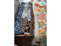 5 Ladies Scarves lovely collection