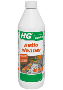 Hg Patio Cleaner 1 Litre Concentrated Path Concrete Paving