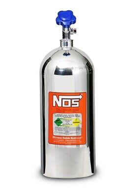 Nitrous Oxide Systems 14745-PNOS Nitrous Bottles 10 lbs. Aluminum Polished