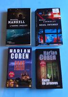 STEPHEN KING, HARLAN COBEN,LOT DE LIVRES,POLAR...