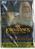 2006 Topps Lord of the Rings Evolution Card Set