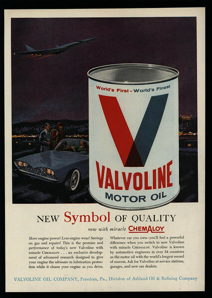 1962 VALVOLINE - World