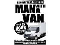 £12 an hour man with a van