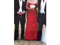 Sorrella Vita Bridesmaids Dress - Cranberry Red