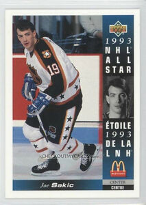 1993-94 McDonald's hockey cards (27 card set,no holograms or CL) City of Halifax Halifax image 2