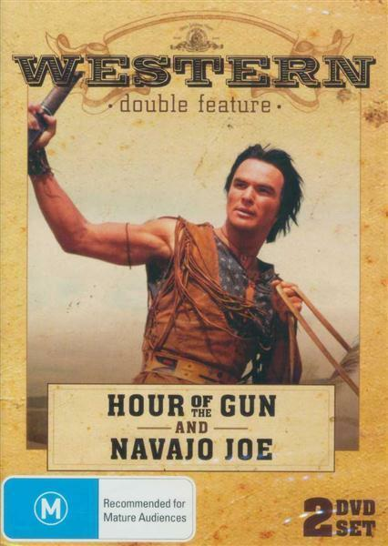 C13 BRAND NEW SEALED Hour Of The Gun / Navajo Joe Western Pack (2 DVD Set)