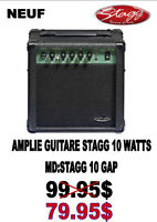 NEUF .... AMPLIFICATEUR STAGG....( 10 WATTS ) ...$79.95