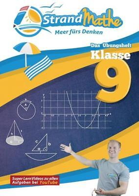 StrandMathe Übungsheft Mathe Klasse 9 – mit kostenlosen Lernvideos inkl. Lösungs (Strand Videos)