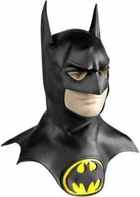 Collector Batman Returns Movie Mask & Cowl Original 1992 Michael Keaton - Fast - - Michael Keaton Batman Mask