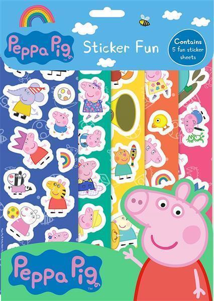Peppa Pig Sticker Fun pesfn 1