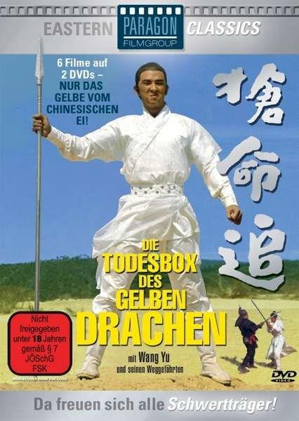 6er Eastern Box DIE TODESBOX DES GELBEN DRACHEN Shaolin WANG YU Shantung DVD Neu