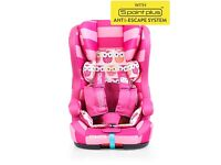 Cosatto Hubbub Isofix Car Seat (9month - 12 years) - New but with some slight marks & without carton