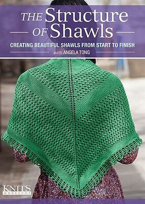 The Structure Of Shawls With Angela Tong  Dvd  Create The Perfect Shawl