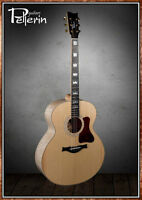 Guitare Pellerin custom vintage SJ salvaged Sitka/maple
