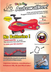 Brand New Ride-On Toys Twist Car for Children Aged 3+