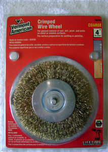 "Vermont American 4"" Crimped Wire Wheel"