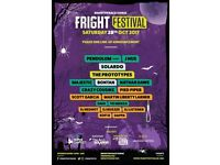 Brighton fright fest ticket