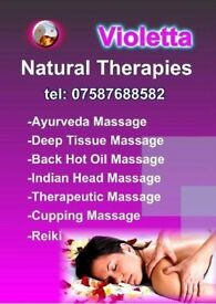 THERAPY AND RELAXING MASSAGE