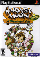 PLAYSTATION 2 HARVEST MOON SPECIAL EDITION A WONDERFUL LIFE