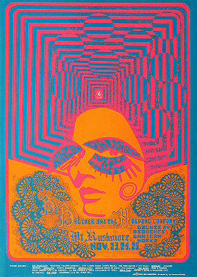 Big Brother   The Holding Company   1967   Avalon Ballroom   Concert Poster