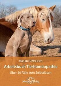 NEU-MARION-FueNFROCKEN-ARBEITSBUCH-TIERHOMoeOPATHIE