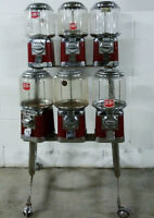 SELLING 6-heads BEAVER VENDING MACHINE FOR 25c or 1$ with STAND