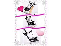Belle women's black shoes size 5 & 6