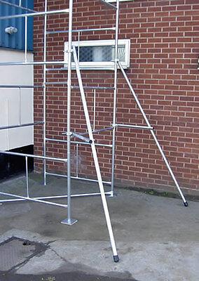 Andamio Torre Outriggers Estabilizadores Par - Clásico Acero Galvanizado Torres