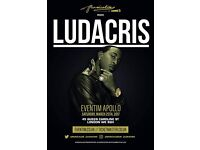 2 X Standing Tickets to see Ludacris Sat 25th March Eventim Apollo London