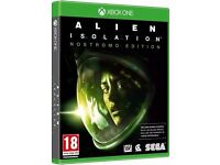 ALIEN ISOLATION FOR XBOX ONE - £5 ONLY! - BRAND NEW !!