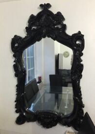 Large antique style wall mirror £50