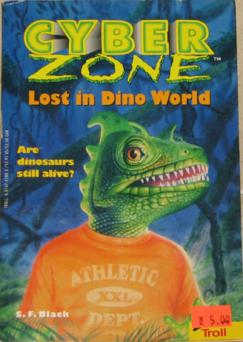 Cyber Zone Lost in Dino World Book