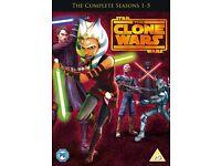 Star Wars Clone Wars - Season 1-5 [DVD] / New