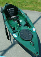 Caddillac of ALL Fishing KAYAKS!! ONLY $825.00 FREE PADDLE!!