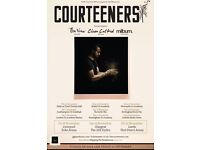 2 TICKETS FOR THE COURTEENERS LIVE IN CONCERT AT THE LIVERPOOL ECHO ARENA
