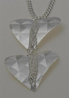 """Jules Smith Lovers Only Necklace 32"""" Chain Silver/Gold"""