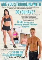 30 Day Isa Body Breakthrough Starting May 11th!
