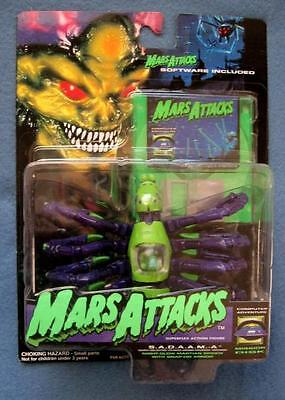 Night Glow Martian Spider Vehicle Mars Attacks Trendmasters 1996 Figure