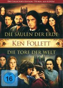 Ken Follett Collection: Die Säulen der Erde & Die Tore der Welt (8 DVDs)