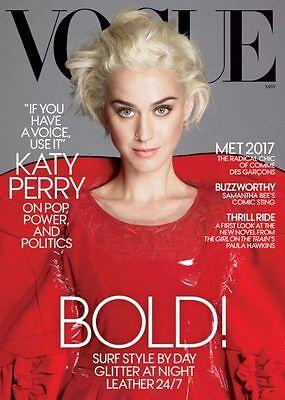 Katy Perry   Samantha Bee   Met Gala   Vogue Magazine   May 2017   No Label