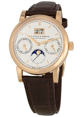 A. Lange and Sohne Saxonia Annual Calendar Mens Watch 330.032