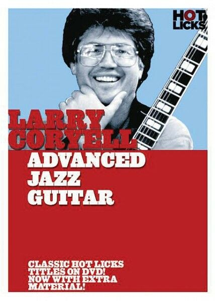 Larry Coryell Advanced Jazz Guitar DVD NEW 014018615
