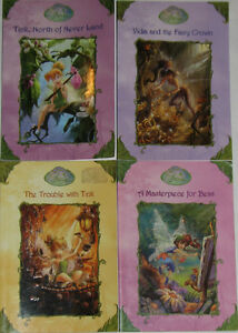 4 x Disney Fairies Books (Lot # 1 - 2) (Ret. $32+)